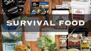 Survival Food & Emergency Food Storage