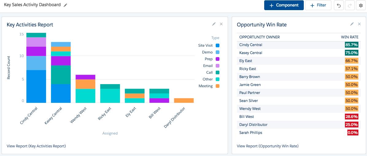 salesforce activity capture